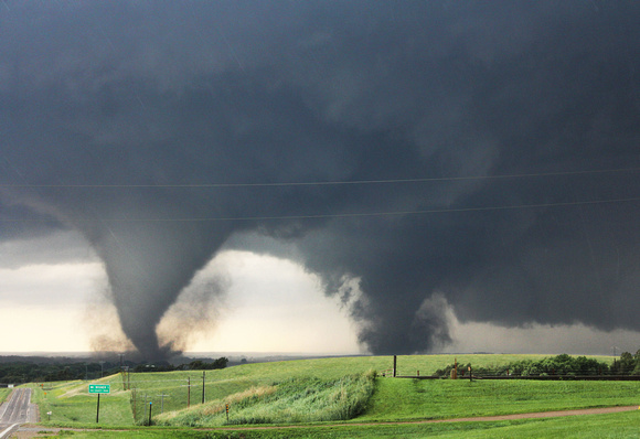 Twin Pilger, NE EF4 Tornadoes - June 16, 2014
